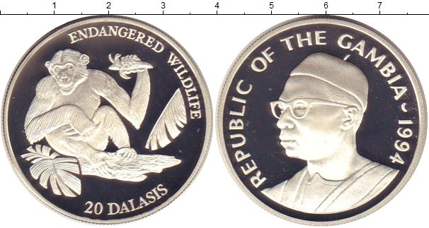 Монеты гамбия 100000 купюра
