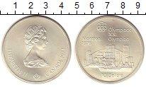 Изображение Монеты Канада 10 долларов 1976 Серебро UNC- Олимпиада-76. Монтре