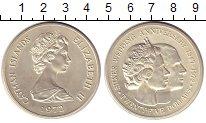 Изображение Монеты Каймановы острова 25 долларов 1972 Серебро UNC Елизавета II. Серебр