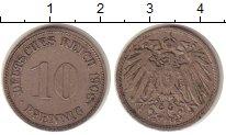 Изображение Монеты Германия 10 пфеннигов 1908 Медно-никель XF