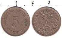 Изображение Монеты Германия 5 пфеннигов 1912 Медно-никель XF