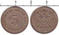 Изображение Монеты Германия 5 пфеннигов 1913 Медно-никель XF
