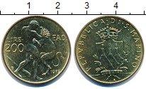 Изображение Монеты Сан-Марино 200 лир 1979 Латунь UNC-