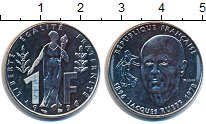 Изображение Монеты Франция 1 франк 1996 Медно-никель UNC