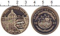 Изображение Монеты Либерия 10 долларов 2005 Медно-никель UNC-