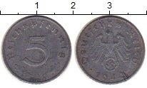 Изображение Монеты Третий Рейх 5 пфеннигов 1942 Цинк XF-