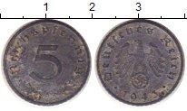 Изображение Монеты Третий Рейх 5 пфеннигов 1943 Цинк XF-