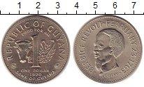 Изображение Монеты Гайана 1 доллар 1970 Медно-никель UNC-