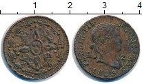 Изображение Монеты Испания 2 мараведи 1829 Медь XF