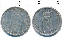 Изображение Монеты Норвегия 1 эре 1911 Серебро XF- Хокон VII