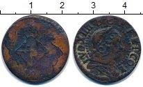 Изображение Монеты Испания Барселона 1 сейсино 1648 Медь VF-