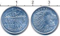Изображение Монеты Эфиопия 1 цент 1977 Алюминий UNC-