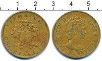 Изображение Монеты Ямайка 1 пенни 1967 Латунь XF