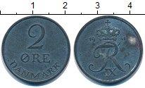 Изображение Монеты Дания 2 эре 1951 Цинк XF-