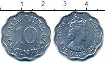 Изображение Монеты Маврикий 10 центов 1978 Медно-никель UNC-