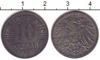 Изображение Монеты Германия 10 пфеннигов 1919 Цинк XF