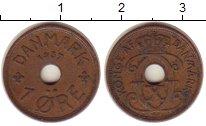 Изображение Монеты Дания 1 эре 1937 Бронза XF