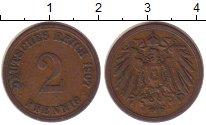 Изображение Монеты Германия 2 пфеннига 1907 Медь XF