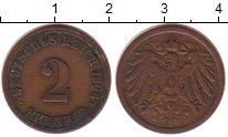 Изображение Монеты Германия 2 пфеннига 1906 Медь XF