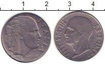 Изображение Монеты Италия 20 сентесим 1941 Сталь XF