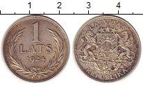 Изображение Монеты Латвия Латвия 1924 Серебро XF