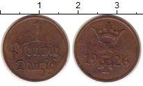 Изображение Монеты Данциг 1 пфенниг 1926 Бронза XF