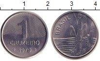 Изображение Монеты Бразилия 1 крузейро 1979 Сталь UNC-