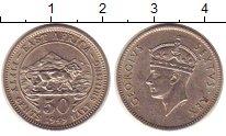 Изображение Монеты Восточная Африка 50 центов 1949 Медно-никель UNC-