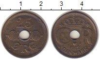 Изображение Монеты Дания 25 эре 1942 Медно-никель VF