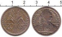 Изображение Монеты Индокитай 20 центов 1941 Медно-никель XF-