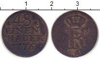 Изображение Монеты Пруссия 1/48 талера 1776 Серебро VF Фридрих II