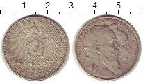 Изображение Монеты Баден 2 марки 1906 Серебро VF