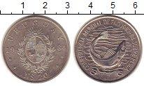 Изображение Монеты Уругвай 20 песо 1984 Серебро UNC-
