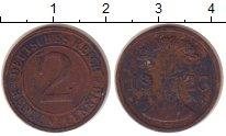 Изображение Монеты Германия 2 пфеннига 1923 Бронза XF