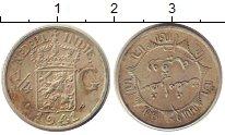 Изображение Монеты Нидерландская Индия 1/4 гульдена 1941 Серебро XF