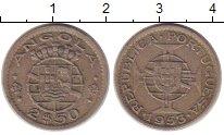 Изображение Монеты Ангола 2 1/2 эскудо 1953 Медно-никель XF Португальская колони