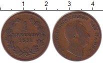 Изображение Монеты Германия Баден 1 крейцер 1852 Медь VF
