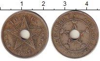 Изображение Монеты Бельгийское Конго 10 сантимов 1927 Медно-никель XF