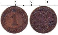 Изображение Монеты Германия 1 пфенниг 1895 Медь XF