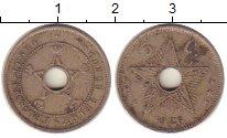 Изображение Монеты Бельгия Бельгийское Конго 5 сентим 1926 Медно-никель XF
