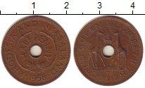 Изображение Монеты Великобритания Родезия 1/2 пенни 1958 Бронза XF