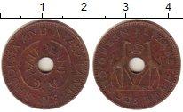 Изображение Монеты Родезия 1/2 пенни 1958 Бронза XF