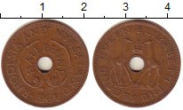 Изображение Монеты Родезия 1/2 пенни 1964 Бронза XF