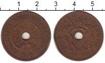 Изображение Монеты Великобритания Родезия 1 пенни 1956 Бронза XF