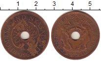 Изображение Монеты Великобритания Родезия 1 пенни 1962 Бронза XF