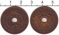 Изображение Монеты Родезия 1 пенни 1961 Бронза XF