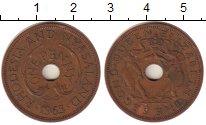 Изображение Монеты Великобритания Родезия 1 пенни 1963 Бронза XF