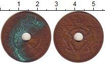 Изображение Монеты Великобритания Родезия 1 пенни 1961 Бронза VF