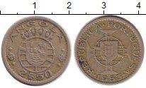 Изображение Монеты Ангола 2 1/2 эскудо 1953 Медно-никель XF Колония Португалии