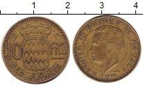 Изображение Монеты Монако 10 франков 1930 Латунь XF